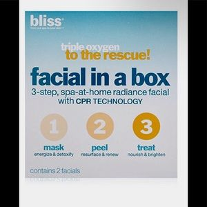 Bliss Triple Oxygen to the Rescue Facial in a Box